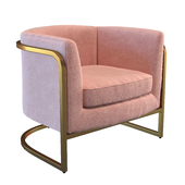 MoDRN Marni Barrel Accent Chair
