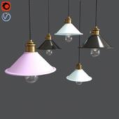 Maarosi Pastel Shades Scandi Pendant Lamp