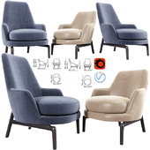 Leda Flexform Armchair Set