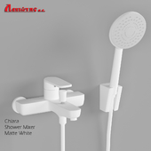 Shower mixer CHIARA WHITE