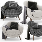 Armchair Med Queen Poliform