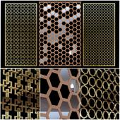 Decorative partitions