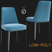 Poliform Sophie Dinning Chair (low poly)