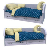 children_bed_classic