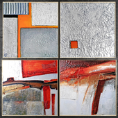 Paintings abstract | set 418