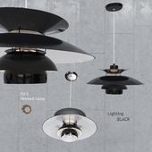 Подвесной светильник Louis Poulsen PH5 Black Pendant Lamp