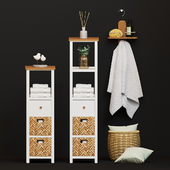 A set of furniture and decor for the bathroom