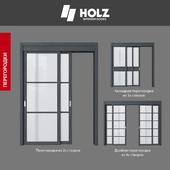 OM Двери HOLZ: коллекция МЕЖКОМНАТНЫХ ПЕРЕГОРОДОК
