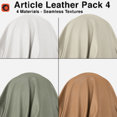 Maharam - Article Leather - Pack 4 (4 Seamless Materials)
