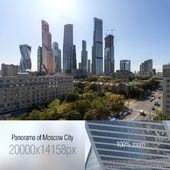 View of Moscow City. 20k