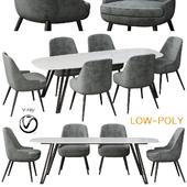 Poliform Dinning Set (low poly)