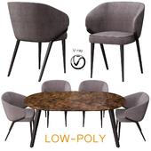 Poliform Dining Set (low poly)