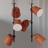 ZERO GINZA - VERTICAL LED Aluminium Pendant Lamp