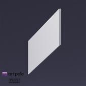 Gypsum 3D panel Elementary _KOLOS 1-2 by Artpole