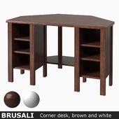 IKEA BRUSALI Угловой письменный стол