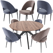 Saarinen Dining Chair And Table