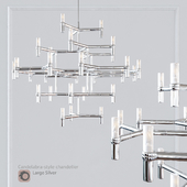 Люстра EQUINOX CHANDELIER Large Silver