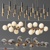 Linear Suspension Chandelier Collection 01