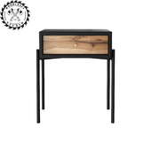 Frank nightstand - WoodCraftStudio