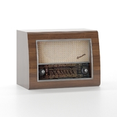 Retro Radio Low-poly