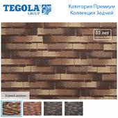 Seamless texture of flexible tiles TEGOLA. Premium category. Architect Collection