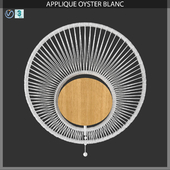 APPLIQUE OYSTER BLANC