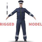 Полицейский. Инспектор
