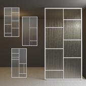Glass partition door 31