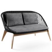 Joemie garden sofa