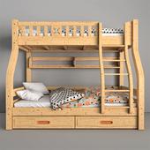 Lin Children wooden bunk