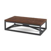 Loft style coffee table
