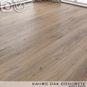 Parquet Kahrs Oak Concrete