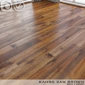 Parquet Kahrs Oak Saw Brown