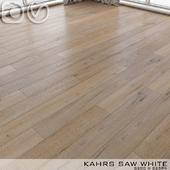 Parquet Kahrs Oak Saw White