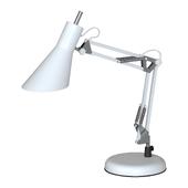 Офисная настольная лампа белого цвета Norden 01032/1