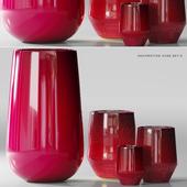 decorative vase set 8
