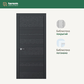 "Interior door factory ""Terem"": model Combo 02 (Design collection)"