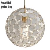Seashell Ball pendant lamp