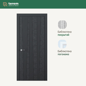 "Interior door factory ""Terem"": model Combo 03 (Design collection)"