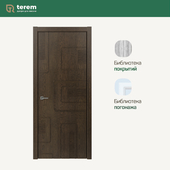 "Interior door factory ""Terem"": model Capriccio 01 (Design collection)"