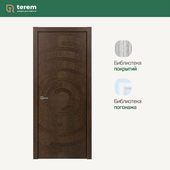 "Interior door factory ""Terem"": model Capriccio 02 (Design collection)"