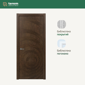 "Interior door factory ""Terem"": model Capriccio 03 (Design collection)"