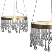 Lucienne Luxor Gold Interior LED Pendant
