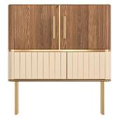 Hepburn cabinet with insides.
