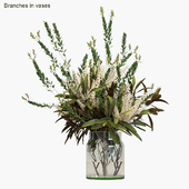 Branches in vases # 4
