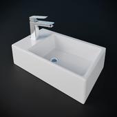 Ideal Stadart STRADA asymmetric washbasin