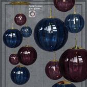Подвесной светильник Hector Finch Paola Palantir Pendant 6 Bubble