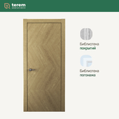 "Interior door factory ""Terem"": Union 01 model (Design collection)"