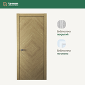 "Interior door factory ""Terem"": Union 02 model (Design collection)"