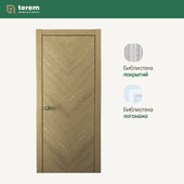 "Interior door factory ""Terem"": Union 04 model (Design collection)"